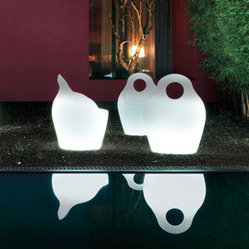 Domitalia | Babà Fluorescent Light Armchair