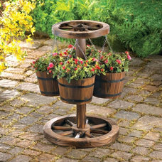 Eclectic Outdoor Pots And Planters by American Home Decorating Superstore