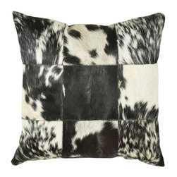 Rizzy Home - Black and Off White Decorative Accent Pillows (Set of 2) - T03978 - Set of 2 Pillows.