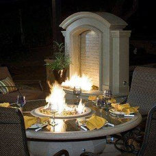 Contemporary Fire Pits by Gorilla Islands