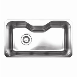Whitehaus - Whitehaus Whnua3016 Kitchen Sink - Full undercoat under sound deadening pads