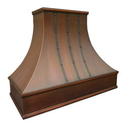London Copper Range Hood -