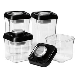 Cuisinart Fresh Edge 8-Piece Vacuum Sealed Food Storage Containers