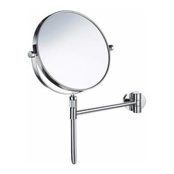 Smedbo - Smedbo Mirror Adjustable/Detachable, Polished Chrome - Smedbo Mirror Adjustable/Detachable, Polished Chrome