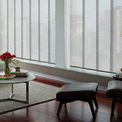 Hunter Douglas Skyline® Gliding Window Panels - Hunter Douglas Skyline® Gliding Window Panels