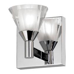 Dainolite - Dainolite Crystal Sconce - V686-1W-PC