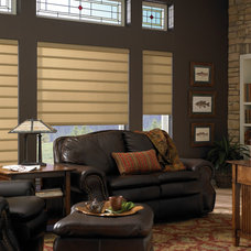 Modern Roman Shades by Complete Blinds