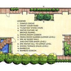 Contemporary  by Integration Design Studio, Landscape Architects