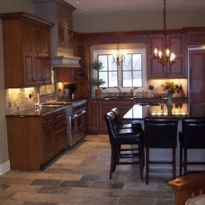 Traditional Kitchen Cabinets Kitchen/Living Room Re-Model