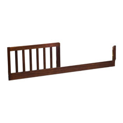 "Da Vinci - DaVinci Toddler Bed Conversion Rail Kit in Espresso Finish - Da Vinci - Conversion Rails - M3099Q - Once your little one has outgrown the crib this Toddler Bed Conversion Rail Kit allows you to easily convert it into a toddler bed. With a simple installation using just four included screws you can extend the use of the crib until your child is ready for a twin bed. Measures 51.5""""L x 1.125""""W x 13.5""""H."