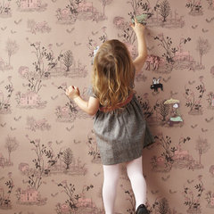 eclectic wallpaper by Sian Zeng