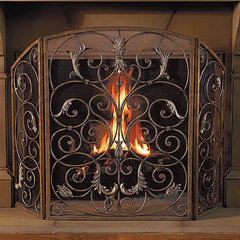 traditional fireplace accessories by FRONTGATE