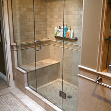 traditional showers by Christine Austin Design