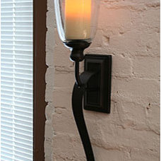 Modern Wall Lighting by Battery Operated Candles
