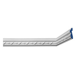"Inviting Home - Bellmeade Decorative Molding - Bellmeade decorative chair-rail molding 3-1/4""H x 7/8""P x 8'00""""L repeat - 3"" chair rails sold in length of 8'00"" 4 piece minimum order required chair-rail molding specifications: - outstanding quality chair-rail molding made from high density polyurethane: environmentally friendly material is hypoallergenic and fully recyclable no CFC no PVC no formaldehyde; - front surface of this molding has extra durable and smooth surface; - chair-rail molding is pre-primed with water-based white paint; - lightweight durable and easy to install using common woodworking tools; - metal dies were used for consistent quality and perfect part to part match for hassle free installation; - this chair-rail molding has sharp deep and highly defined design; - matching flexible molding available; - chair-rail molding can be finished with any quality paints; Polyurethane is a high density material--it's extremely lightweight and easy to install (and comes primed and ready to paint). It is a green material meaning its CFC and formaldehyde free. It is also moisture resistant--so it won't shrink flex or mold. What's also great about Polyurethane is that it's completely customizable and can be treated as wood (you can saw it nail it screw it and sand it). In addition our polyurethane material comes primed and ready to paint. There is a four piece minimum requirement for this molding purchase."
