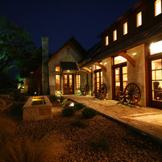 Eclectic Exterior by John Lively & Associates