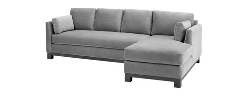 Apt2B - Avalon 2PC Sectional Sofa, Stone, Chaise on Right - This sleek, L-shaped sectional sofa will extend your seating and give you extra lounging room without eating up your whole space. The stylish design includes tapered arms, a solid wood base and one long seat cushion — so you can pile on the guests and no one will fall through the cracks.