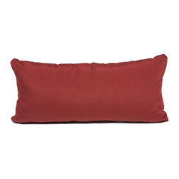 TKC - Pair of New Decorative Outdoor Throw Pillows Terracotta - Rectangle - 11x22 - Help make your outdoor space inviting with the addition of outdoor throw pillows.