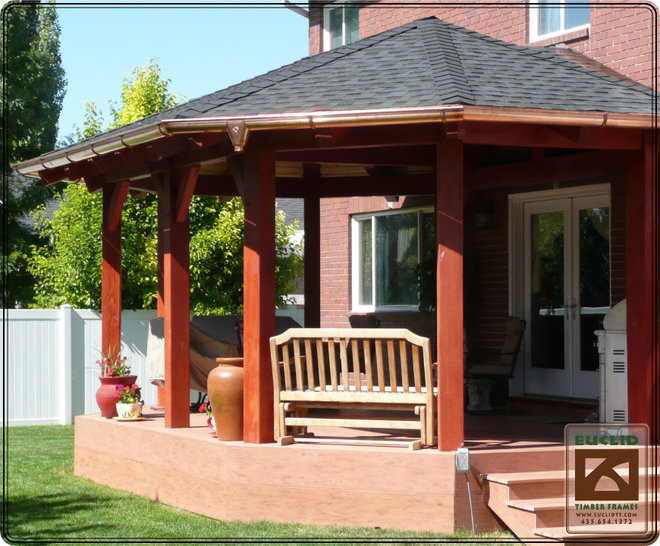Traditional Gazebos by Euclid Timber Frames, LC