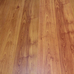 Kokols - Kokols Euphonious Ochre Russet Oak Laminate Flooring (25.83 sq ft) - The euphonious ochre russet oak color 8 mm laminate flooring has the modern design with wood-grain embossing finish on the flooring surface,making it look like real solid wood.