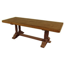 1STDIBS.COM - Provenance Antiques - French Farm Table in Heavy Oak