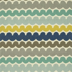 """Loloi Rugs - Loloi Rugs Ventura Collection - Multi Stripe, 7'-10"""" Round - Set the foundation for a beautiful outdoor arear with the well-designed Ventura Collection.  Hand-hooked in China of 100% polypropylene, Ventura's fresh geometric patterns and bright, on-trend colors will immediately update your patio or poolside with can't-miss style.  Each Ventura rug is specially treated to withstand UV rays, rain, mold, and mildew, so it'll remain bold and bright no matter what weather nature brings."""