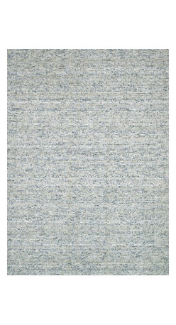 """Loloi Rugs - Loloi Rugs Stella Collection - Pewter, 5' x 7'-6"""" - Dress up your floor with the fashionable Stella Collection from India. Stella cleverly integrates refurbished sari silk dresses with looped wool for an overall look that's striking as a model on the runway. And with several gorgeous color choices to choose from, it's easy to find the piece that matches your style."""