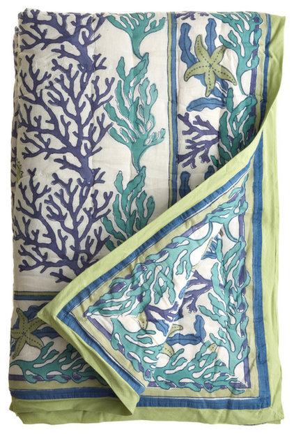 Eclectic Quilts And Quilt Sets by Calypso St. Barth