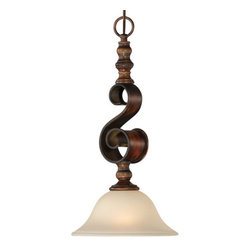 Jeremiah Lighting - Jeremiah Lighting 28021 Seville 1 Light Mini Pendant - Jeremiah Lighting 1 Light Mini Pendant from the Seville CollectionFeatures: