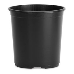 Akro Mils - Akro Mils 15 Gallon Nursery Planter, Black (10-Pack) (NSR015G0) - Akro Mils NSR015G0 15 Gallon Nursery Planter, Black (10 Pack)