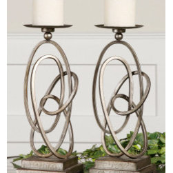 "19544 Rishi, Candleholders, S/2 by uttermost - Get 10% discount on your first order. Coupon code: ""houzz"". Order today."