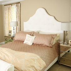 Traditional Bedroom by Sarah Hermans with Decorating Den Interiors