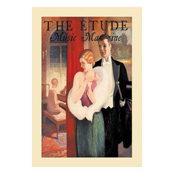"""Buyenlarge.com, Inc. - Etude Music Magazine - Paper Poster 20"""" x 30"""" - Another high quality vintage art reproduction by Buyenlarge. One of many rare and wonderful images brought forward in time. I hope they bring you pleasure each and every time you look at them."""