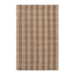 Country Living - Country Living Country Jutes Rug X-6563-6202JTC - Another inspired ensemble from Country Living, the Country Jutes Collection exemplifies the essence of casual style. Hand-woven from all natural jute in monochromatic shades of beige, each rug combines fibers to create a variety of patterns that exude a simple elegance ideal for traditional to transitional interiors.