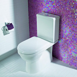 Bathroom Design: Caroma Toilets - Adelaide Cube 270 Round Front Plus
