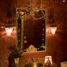 Traditional Bathroom by Michael Lee, Inc