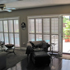 Contemporary Window Treatments by A Shade Above Window Fashions