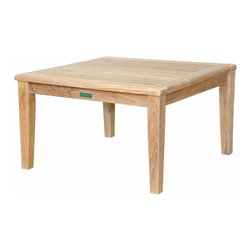 "Anderson Teak - Brianna 32"" Square Coffee Table - The Brianna 32"" Square Coffee Table is the perfect addition for your Patio. This square table is simple, straightforward and sturdy. Strong enough to sit on, perfect for snack or functional table. Can be accompany with Brianna Deep Seating collections as well as with other Brianna Collections."