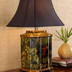 tropical table lamps by Neiman Marcus