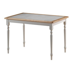 "Boraam - Boraam 30""x45"" Tile Top Table in White/Natural - 30""x45"" Tile Top Table in White/Natural by Boraam This classically chic dinette table never goes out of style! Design your room around this table or enjoy the easiness of emerging it with your current interior style. Do notice the evenly laid ceramic tiles on the table top; this allows for easy clean-up! This table leaves you with endless opportunities when finding a proper location for it in your home; kitchen, dining area, den, screened-in porch, office, bedroom, wherever you desire! Available in two delectable color finishes. While you're at it, pair this table with Boraam's Farmhouse chairs!"