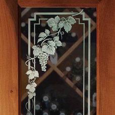 Traditional Interior Doors by Sans Soucie Art Glass