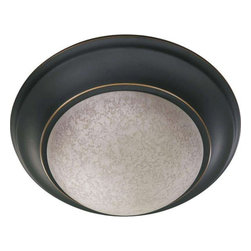 "Quorum - 11"" 1-Light Flush Mount Fixture Old World - DEEP DISCOUNT DEAL! Quantities are limited!"