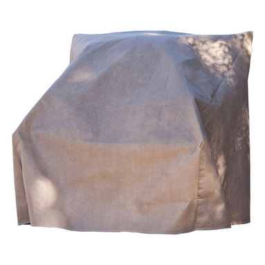 """Duck Covers 36""""W Patio Chair Cover with Inflatable Airbag - Patio Chair Cover Actual Size - 36"""" W x 37"""" D x 36"""" H"""