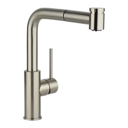 Elkay - Lf Pullout Kit Faucet -37273- CR - Product height: 12. Product min width: 19.7. Product depth: 33.5 lf pullout kit fct -37273- cr. A magnificent blend of traditional and contemporary themes, harmony sinks and faucets embody simplicity yet resonate sophistication. Featuring straight lines and rounded profiles, this family offers an unrivaled transitional geometry. Harmony pull-out kitchen faucet deck mount pull-out spray