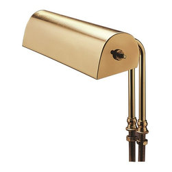 """House Of Troy - House Of Troy Lecturn Collection Desk Lamp X-16-01L - Lecturn light with 10 foot brown cord and snap-on plug. Shade swivels to direct light. Designed to be permanently installed on surfaces up to 2"""" thick."""
