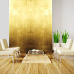 Gold leaf wall panels - Rêve d'Or 2012
