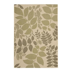 "Safavieh - Safavieh Courtyard CY7015-14A7 8' x 11'2"" Cream, Green Rug - Safavieh's Courtyard collection was created for today's indoor/outdoor lifestyle. These beautiful but practical rugs take outdoor decorating to the next level with new designs in fashion-forward colors and patterns from classic to contemporary. Made in Turkey with enhanced polypropylene for extra durability, Courtyard rugs are pre-coordinated to work together in related spaces inside or outside the home."
