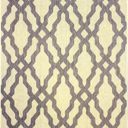Nuloom - nuLOOM Modern Indoor/ Outdoor Lattice Trellis Grey Rug (9' x 12') - This moroccan trellis indoor outdoor area rug is made of polypropylene that is easy to clean as well as it is stain and mildew-resistant. This outdoor and indoor rug promises durability and beautiful versatile colors that will certainly match your decor.