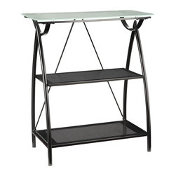 Office Star - Office Star Newport Collection L-Shape Computer Desk - Features: