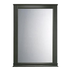 American Standard - Portsmouth Mirror in Dark Chocolate - American Standard 9210.101.322 Portsmouth Mirror in Dark Chocolate